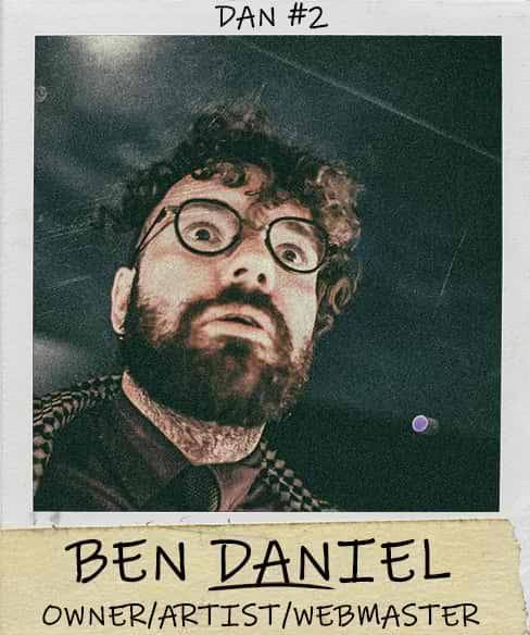 Benjamin Daniel Co-Owner/Artist/Webmaster