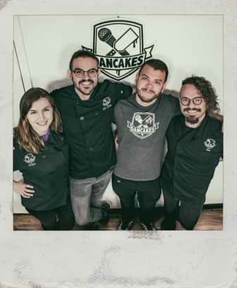 Photograph of the Owners of Dancakes