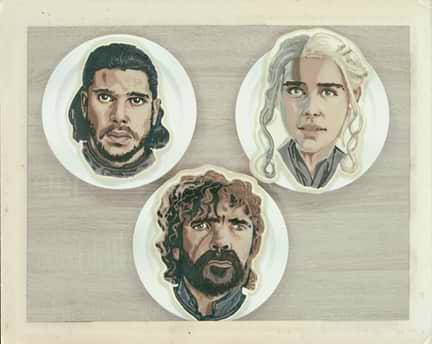 Game of Thrones Pancake Art