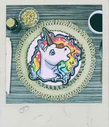 Unicorn Pancake Art